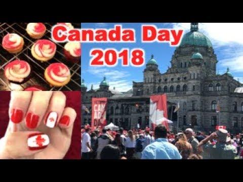 Canada Day Victoria BC 2018 Vlog