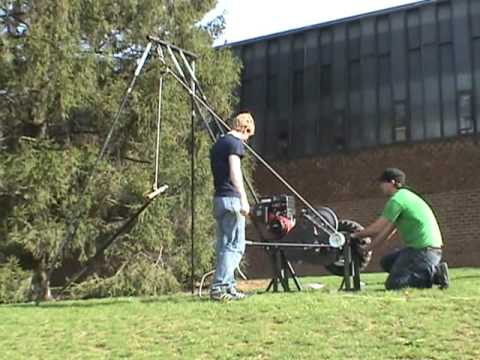 Kenyan Water Well Drilling Rig (Powered) - Agricultural Utility System, Penn State University - YouTube