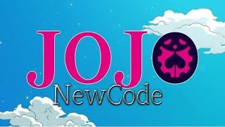 Roblox:! NewCode! Jojo Blox-NinhSenpai