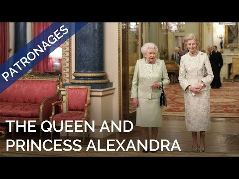 The Queen hosts a reception to celebrate the work and patronages of Princess Alexandra