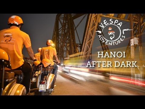 Hanoi After Dark - Vespa Adventures