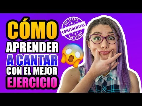 Cómo CANTAR BIEN con el MEJOR EJERCICIO   Clases de canto   Gret Rocha