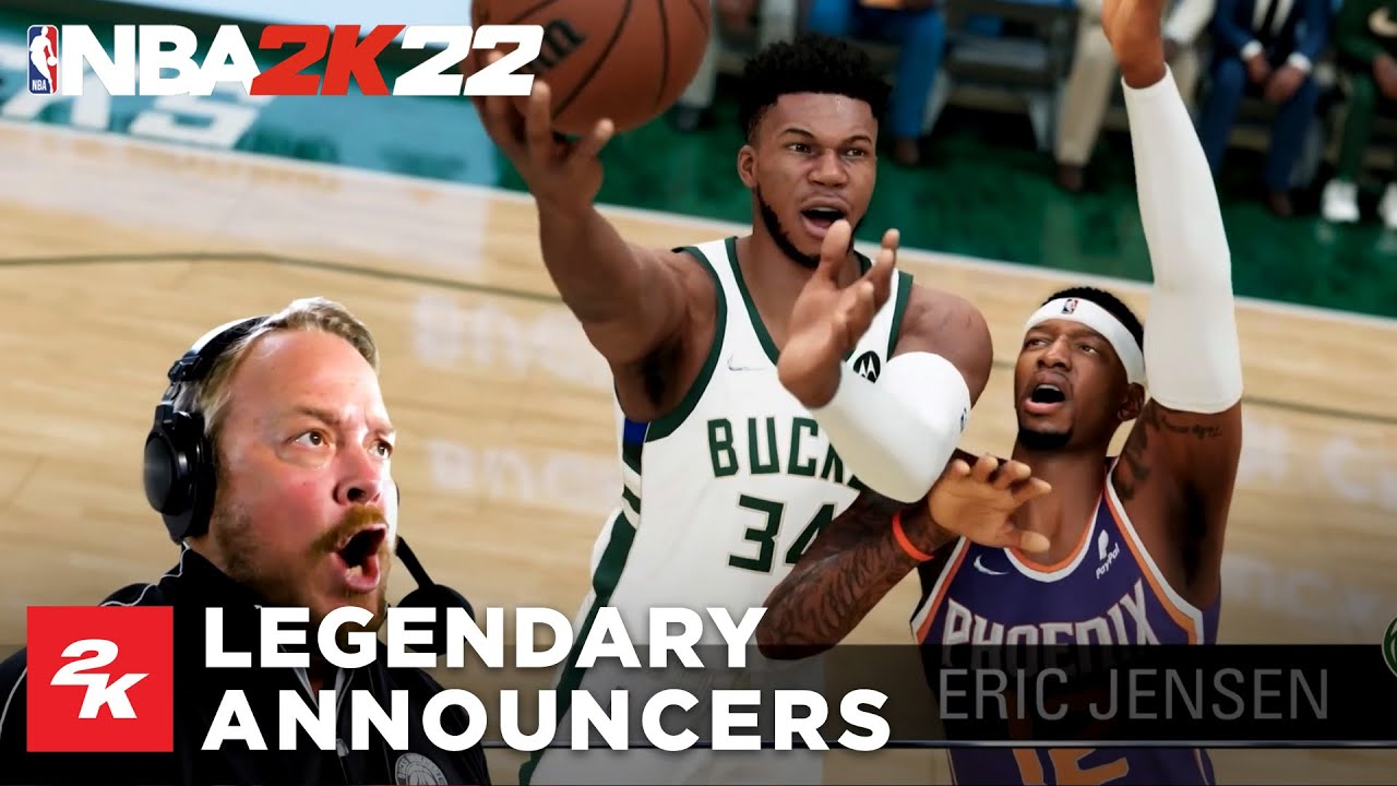 NBA 2K22 | Legendary PA Announcers Trailer