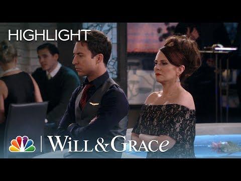 Karen and Estefan Fight at Jack's Birthday Dinner - Will & Grace (Episode Highlight)