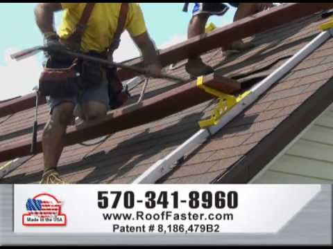 Maj Roof Scaffold System Demonstration Youtube