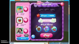 Candy Crush Level 499 Audio Talkthrough, 3 Stars 0 Boosters