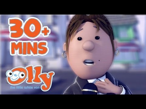 Olly The Little White Van - Olly the Detective   30+ minutes   Mysteries with Olly