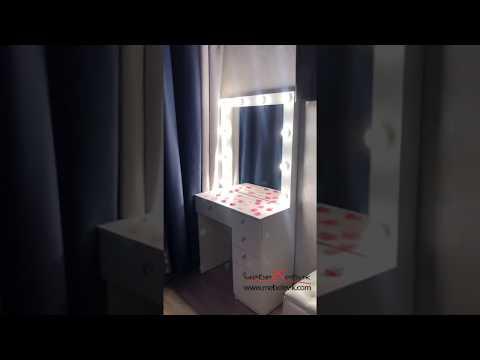 Отзыв, гримёрный макияжный столик Серия 802/Р Mebelevik.com