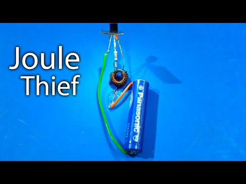 "Make a ""Joule Thief"" - Booster (Science Project)"
