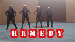 Remedy- Machel Montano Official Dance Video by Zaftig Dance