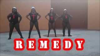 Remedy- Machel Montano Official Dance Video by Zaftig Dance