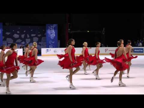 Finlandia Trophy 2012 Espoo 5.10.2012 Revolutions FIN Synchronized Skating