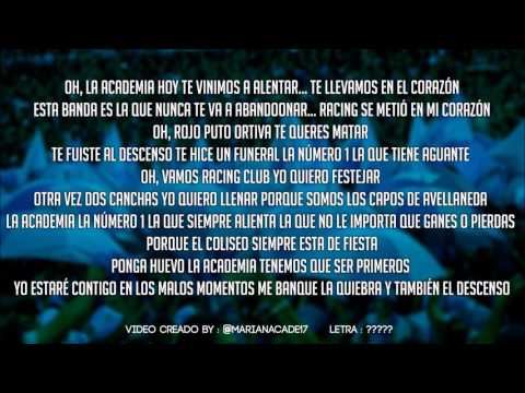 Despacito - Racing Club | Letra