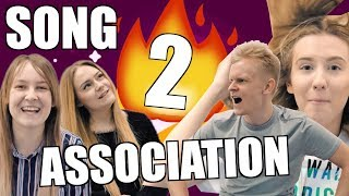 SONG ASSOCIATION GAME! (PART 2) / muzikos asociacija