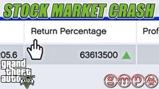 Maximum Money Makes Stock Market CRASH | GTA V (5) BUGS