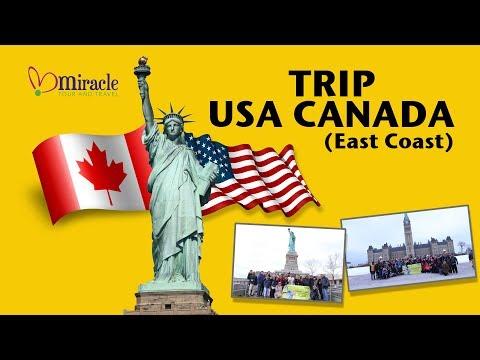 Tour East Coast USA Canada