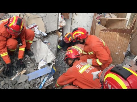 Gas Explosion Kills 5, Topples 3 Buildings in east China City