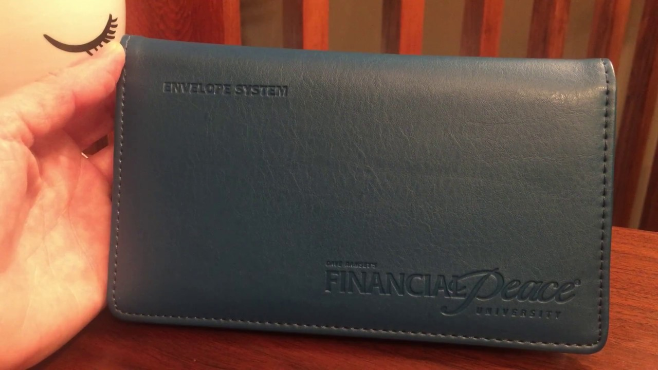 financial peace cash wallet envelope system youtube