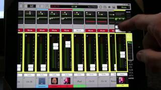 Mackie Master Fader 4.5.3 Monitor Mixes PART 2