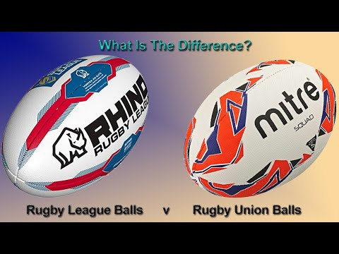What's The Difference Between Rugby League and Rugby Union Balls?