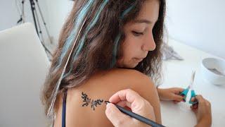 Tattoo Geçici Dövme Yaptırıyorum - Eğlenceli Video