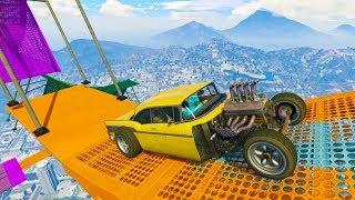 COCHE RARISIMO!! FLIPA! - CARRERA GTA V ONLINE - GTA 5 ONLINE