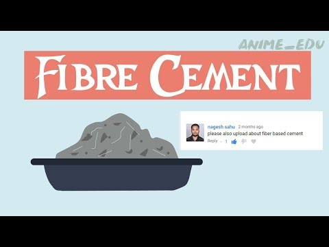 What Is Fibre Cement? || Uses || Types Of Cement #10 ||