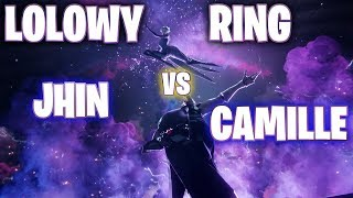 LOLOWY RING - JHIN VS CAMILLE!