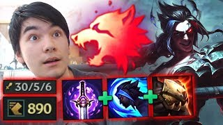 predator kayn domination one of the most op predator users 890 movespeed through walls kayn jg