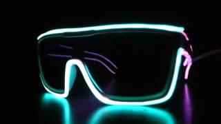 NeonNightlife.com Flashing, Glowing Glasses