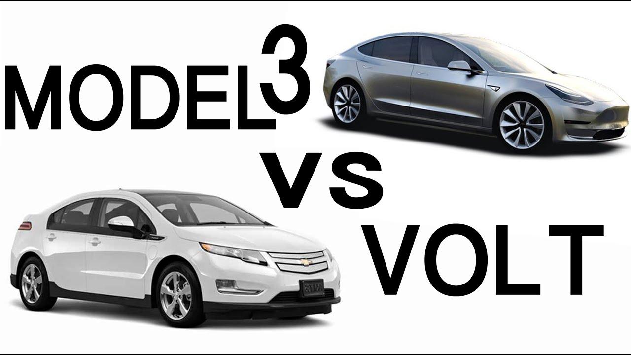 Tesla Model3 Vs Chevy Volt Vlog 159