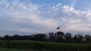 30 inch rc heliocopter doing tricks uj 317 helicopter