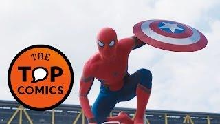 Civil war: spider-man está aquí