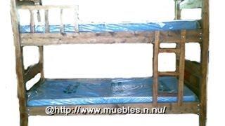 Camarote individual  de madera