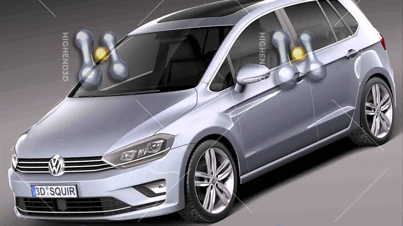 volkswagen golf sportsvan 2015 model youtube. Black Bedroom Furniture Sets. Home Design Ideas