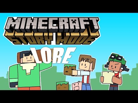 LORE - Minecraft: Story Mode Lore in a Minute!