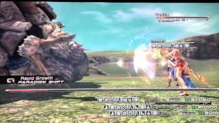 FFXIII - Beating Long Gui for the Adamant Will Trophy / Achievement