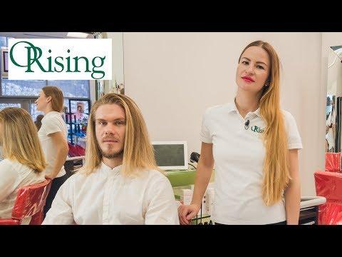Уход за мужскими волосами. Технология от ТМ Orising.
