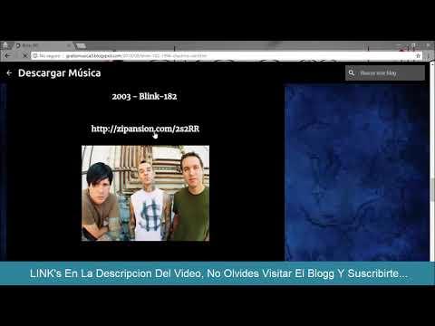 Descargar Discos De Blink-182 MEGA  Descargar Musica De Blink-182 MP3 Discografias De Blink-182