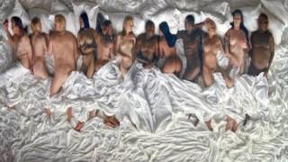 taylor swift rihanna in bed with kanye west in famous music video   lehren hollywood