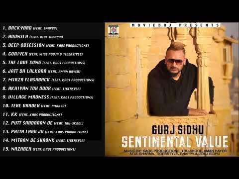 Sentimental Value Gurj Sidhu Full Songs Jukebox