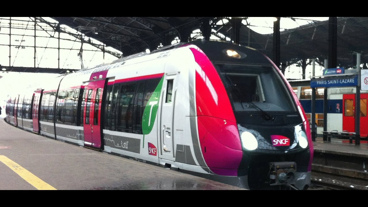 Z50000 nat en gare de clichy levallois sncf transilien saint lazare ligne - Transilien prochain train ...