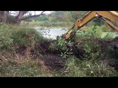 PC 45 beaver dam removal