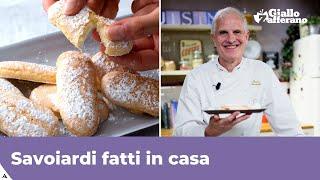 Ricetta Savoiardi Prova Del Cuoco.Savoiardi Fatti In Casa Di Paolo Sacchetti Youtube