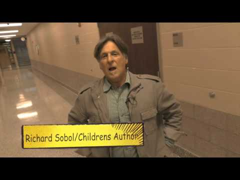 Children's Author Visits McKinley and Prospect Elementary Schools
