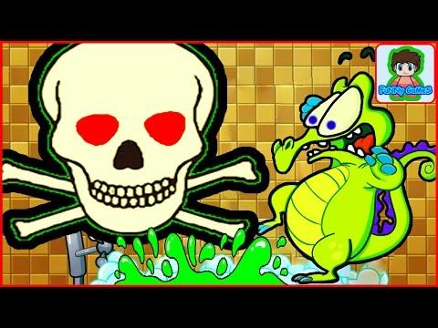 Крокодильчик Свомпи все серии подряд игра как мультфильм для детей