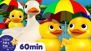 Five Little Ducks +More Nursery Rhymes and Kids Songs | Little Baby Bum