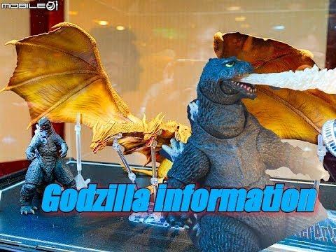 NECA Godzilla 1962 & S.H.MonsterArts King Ghidorah & Godzilla 2019 new pictures