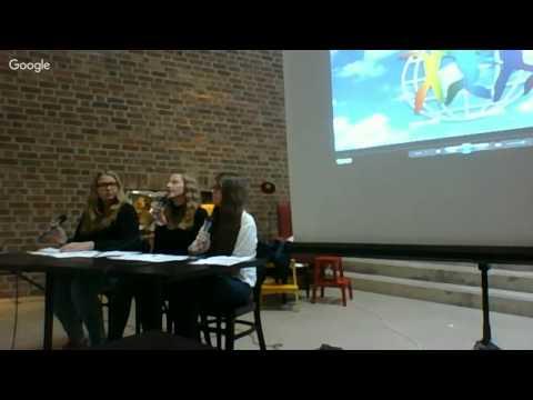 Presskonferens World Children's Prize - Live at Textile Fashion Centre