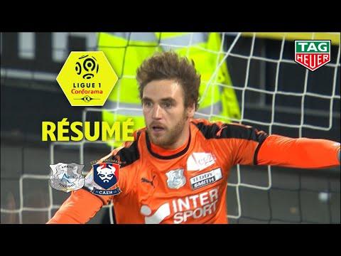 Amiens SC - SM Caen ( 1-0 ) - Résumé - (ASC - SMC) / 2018-19